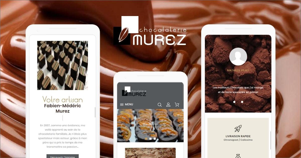 Site Web - Chocolaterie Murez