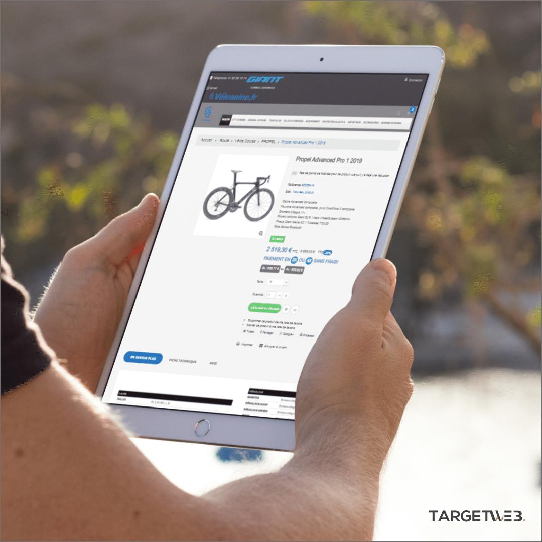 Stratégie digitale VéloSeine