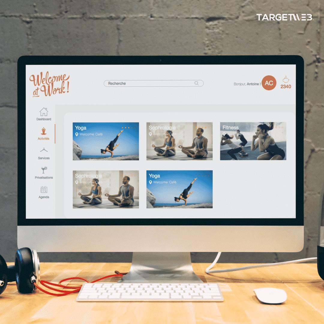 Création de site WordPress WelcomeAtWork